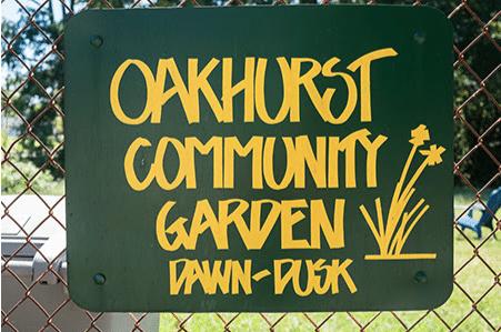 oakhurst community garden in oakhurst, charlotte